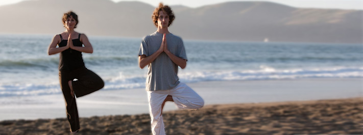 Yoga brings our awareness back to a centered, calm state