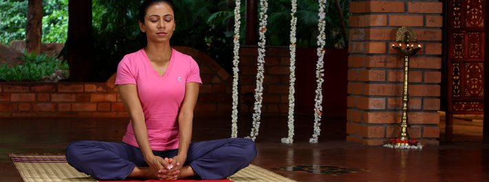 Butterfly pose or Badhakonasana