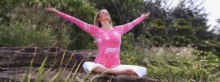 Doing yoga asanas with awareness is enjoyable