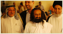Sri Sri in Iraq