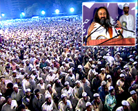 H.H.Sri Sri Ravi Shankar Takes Message Of Oneness To Muslim Clerics