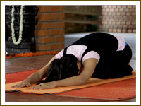 Yoga Asana – Child Pose