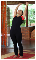 standing backward bend ardha chakrasana