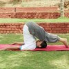 ploughhalasana after shoulder stand