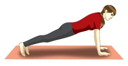 Resultado de imagem para ioga a prancha