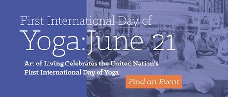 International Day Of Yoga (2nd Annual)