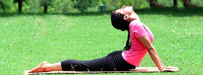 Yoga Asanas Lying on Stomach