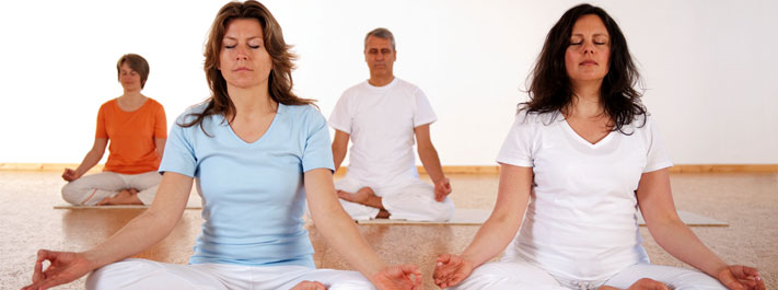 Meditation happens naturally once the body becomes stable