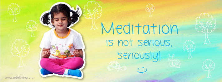 Meditation is not serious