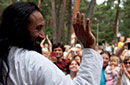 Sri Sri On Tour Menu Page