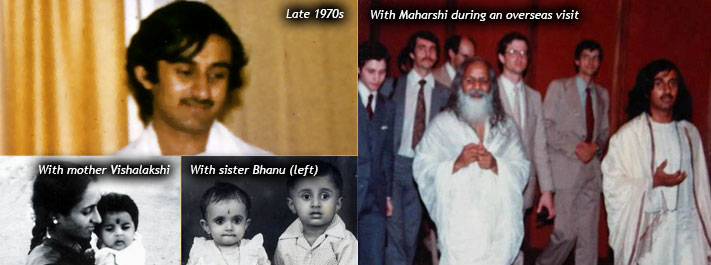 Early life: Sri Sri had a happy childhood. He went on to learn vedic sciences as