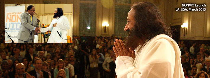 Sri Sri Ravi Shankar - Promoting Nonviolence