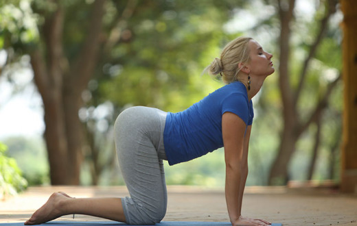 7 simple yoga asanas to wave off neck pain 33815efb1a09