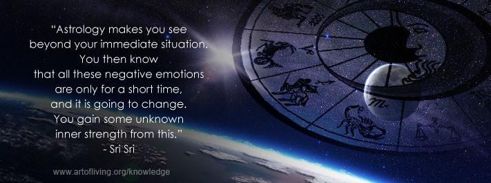 Astrology – The Eye of Wisdom | The Art Of Living Brazil