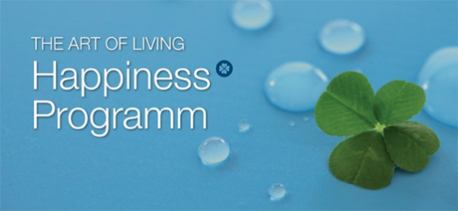 Das Art of Living Happiness Programm