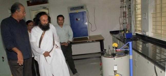2d75dd3b2 Sri Sri inaugurates Tissue Culture Lab for rare plant preservation ...