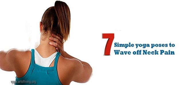 Neck Pain Relief with Yoga Poses