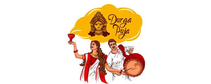 Durga Pooja Celebration In Different Parts Of India