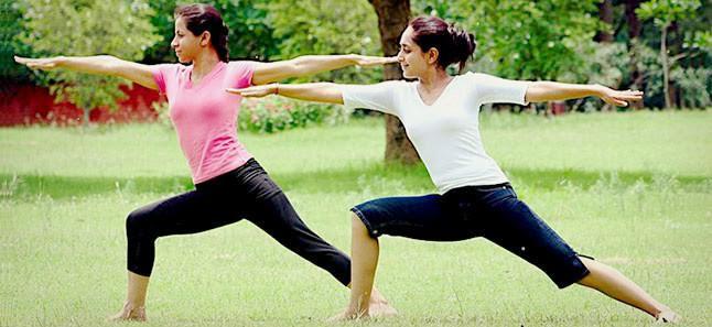 Yoga Excercise in Hindi