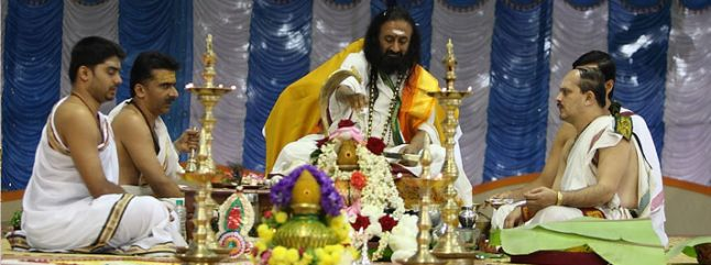 What is Rudra Puja? | The Art of Living India