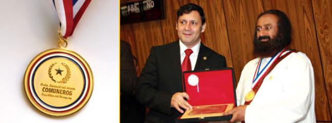 Sri Sri Ravi Shankar - Awards and Honors | The Art Of Living