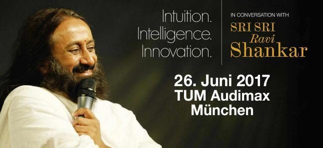 Sri Sri Ravi Shankar in München