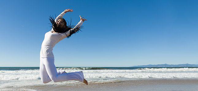 לחיות עם שמחה מטרה ובטחון עצמי