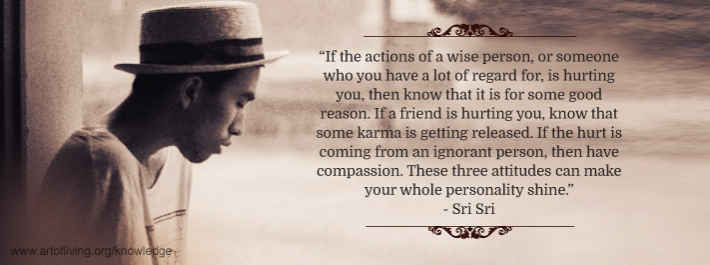 The Right Perspective To Dealing With Hurt The Art Of Living Global