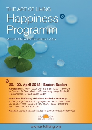 Art of Living Baden Baden