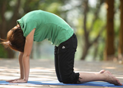 lower back stretches  yoga exercise for lower back pain