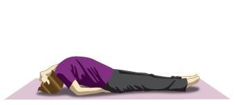 Matsyasana (Fish pose) Immunity boosting yoga pose to combat cough & cold