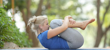 lying on back yoga asanas  lying on back yoga poses