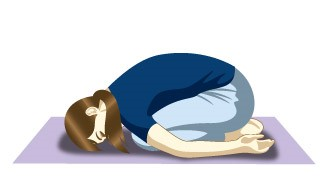 Shishuasana (Child Pose) for Elderly Beginners