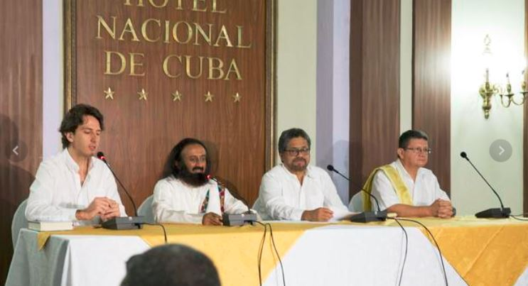 Sri Sri and FARC