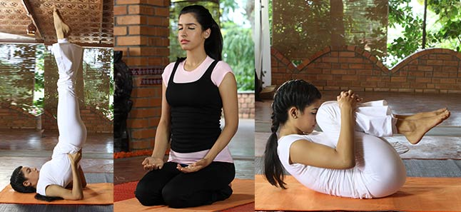 Yoga Poses To Reduce Hair Fall