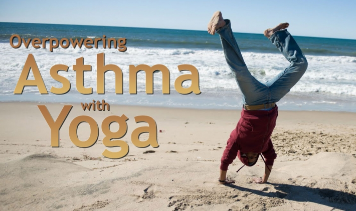 Yoga Breathing Exercise for Asthma | Cure Asthma with Yoga | Art ...