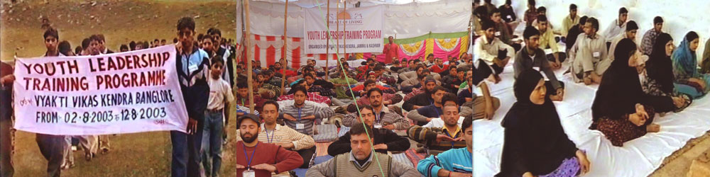 Sowing Seeds Of Peace In Jammu Kashmir Art Of Living India