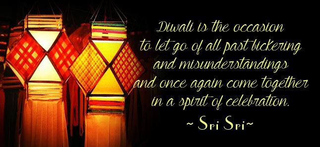 Diwali message by sri sri ravi shankar 2010 the art of living global diwali message by sri sri ravi shankar m4hsunfo