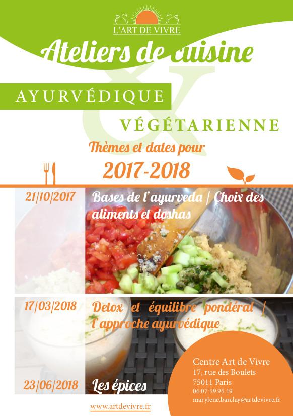 Atelier De Cuisine Végétarienne Art De Vivre France - Formation cuisine vegetarienne