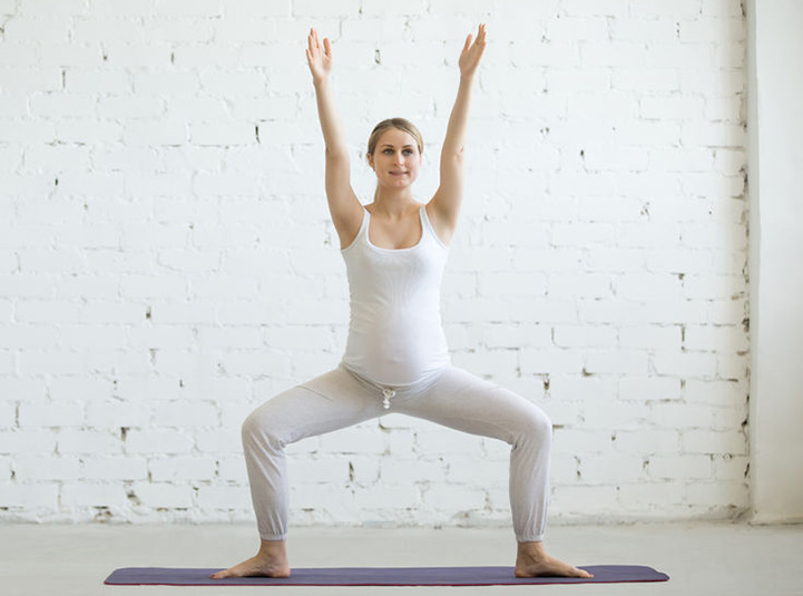 Pregnancy Yoga Poses For The First Trimester The Art Of Living