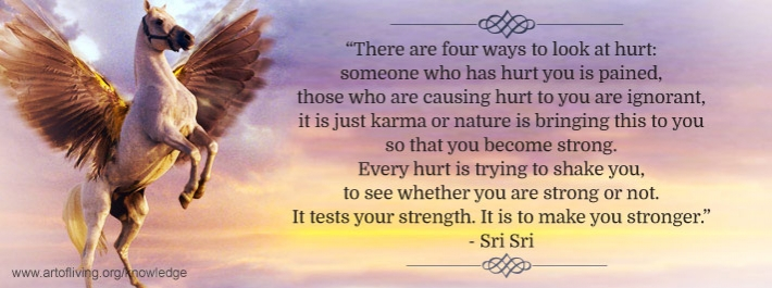Four Ways Of Looking At Hurt | The Art Of Living Global