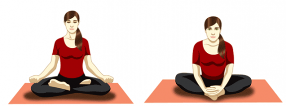 yoga poses to induce sleep