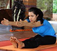 Paschimottanasana Yoga Pose - Seated Forward Bend Yoga Pose