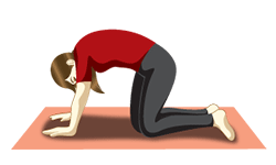 yoga poses for migraines