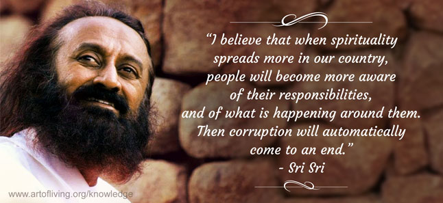 A Strong Self Reliant India The Art Of Living Global