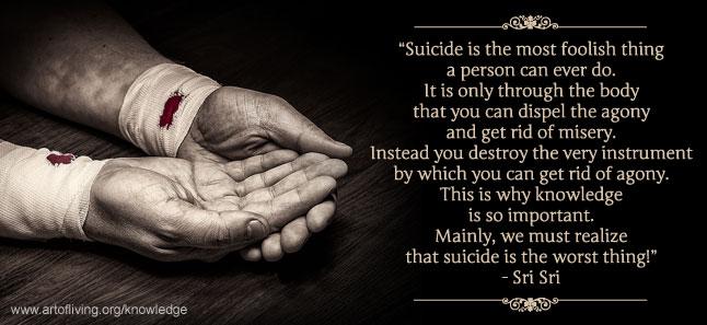 Overcoming Suicide