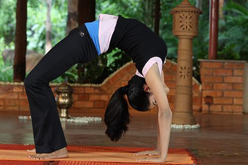 Вакуумный массаж живота йога