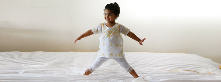 Yoga asanas help channelizing energy in children