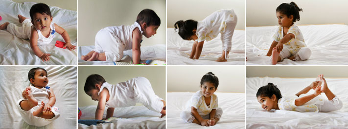 Children do yoga naturally
